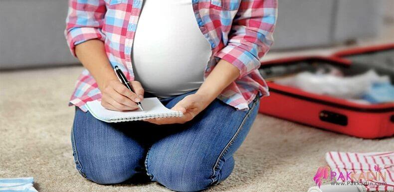Bebek Ve Anne İhtiyaç Listesi
