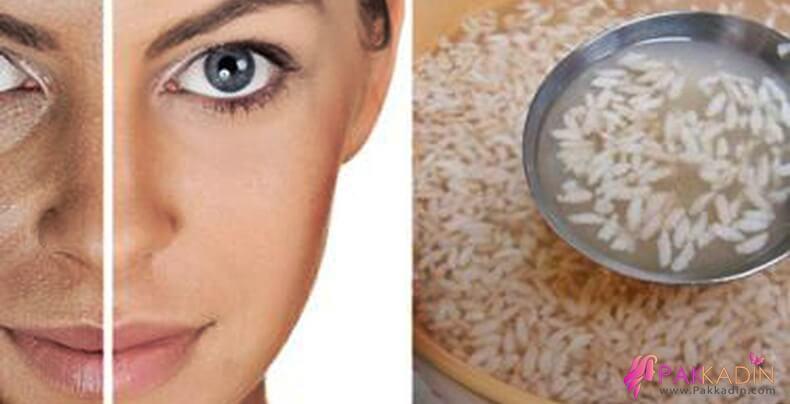 Cilt Beyazlatmak İçin Pirinç Unu Maskesi