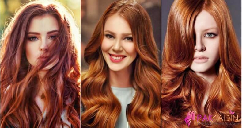 Kına İle Bakır Renk Saç Elde Etmek