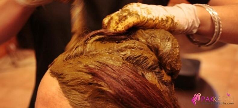 Kına İle Saç Boyama Tarifleri