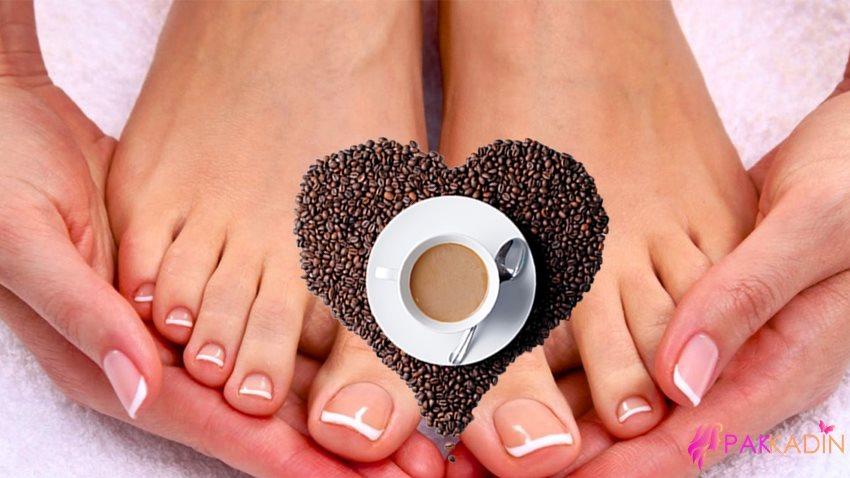 Kahve İle Ayak Peeling Yapımı