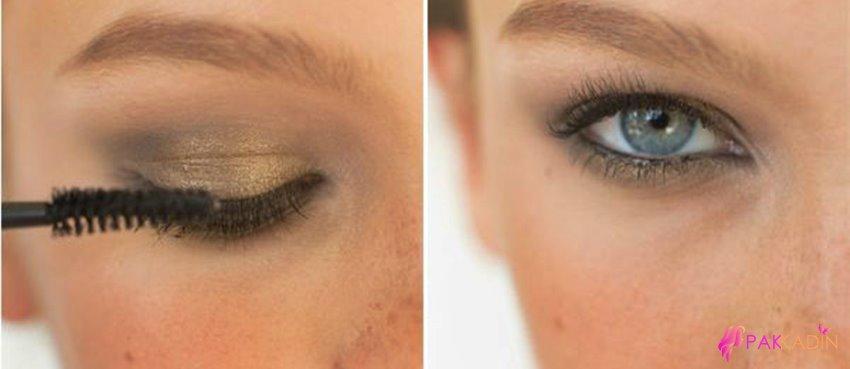 Dumanlı Göz Makyajı Kolay