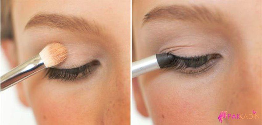 Dumanlı Göz Makyajı Resimli Anlatım