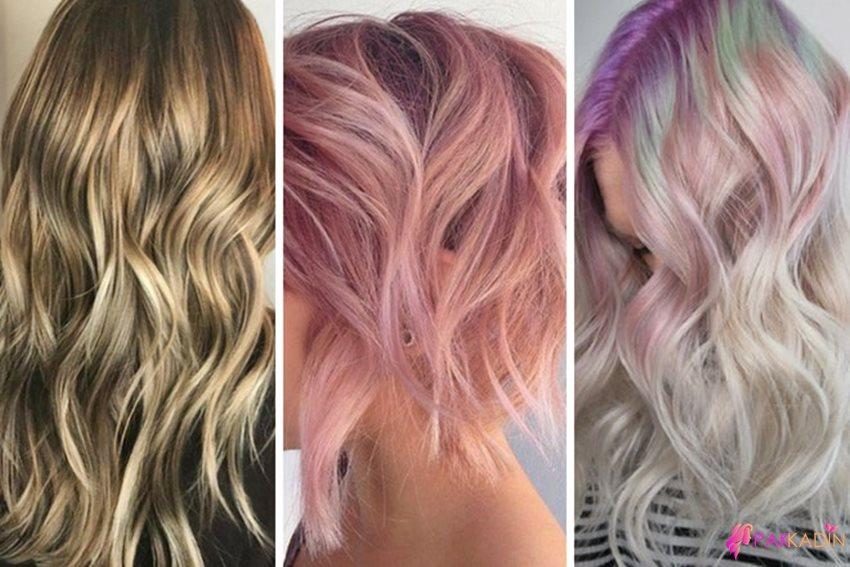 Eriyen Ombre Saç Modeli
