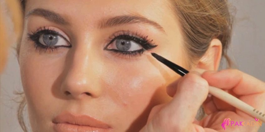 Eyeliner Çekme Teknikleri