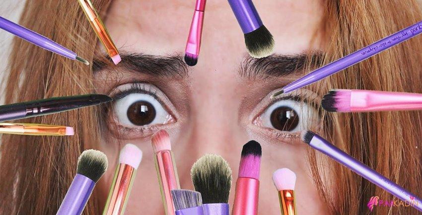 Dumanlı Göz Makyajı Fırçaları