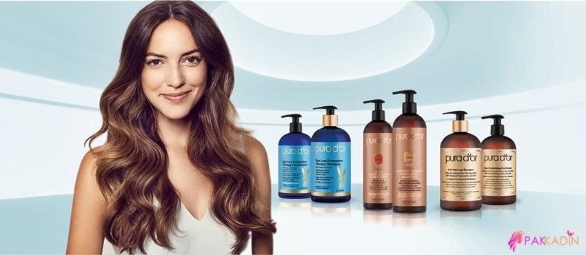 Kadınlarda Saç Dökülmesi için Şampuan
