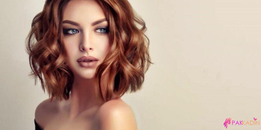 Karamel Renge En Çok Yakışan Saç Modelleri