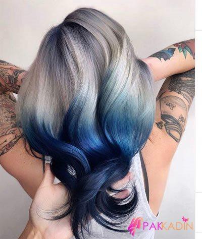 Ters Ombre Saç Modelleri Ve Renkleri
