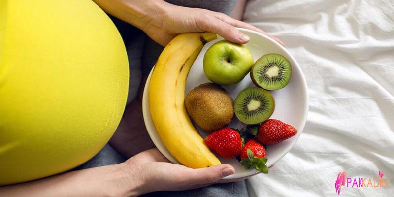 Gebeliğin 25. Haftasında Beslenme