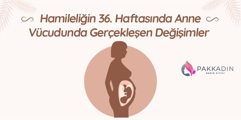Hamileliğin 36. Haftasında Anne Vücudunda Gerçekleşen Değişimler