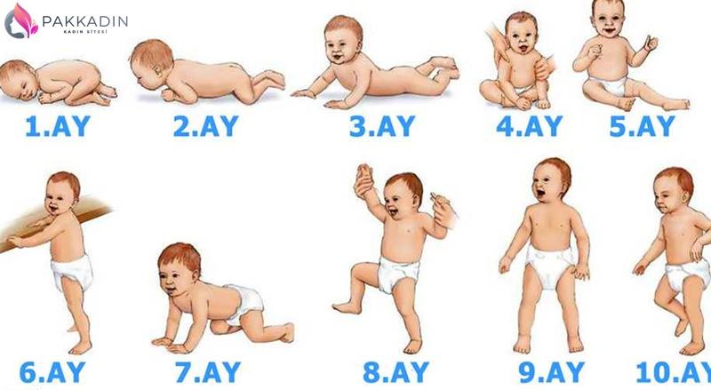 1 Yaşındaki Bir Bebek Neler Yapar?